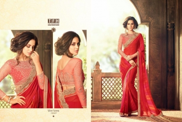 THE FASHION HUB DESIGNER SAREES WHOLESALE SURAT ONLINE 19007