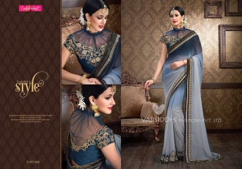 VARSIDDHI FASHION MINTORSI FANCY DESIGNER SAREES WHOLESALER 3601