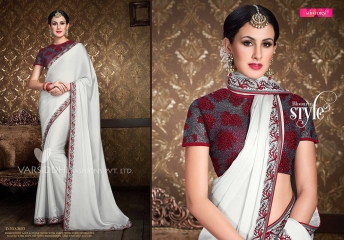 VARSIDDHI FASHION MINTORSI FANCY DESIGNER SAREES WHOLESALER 3603