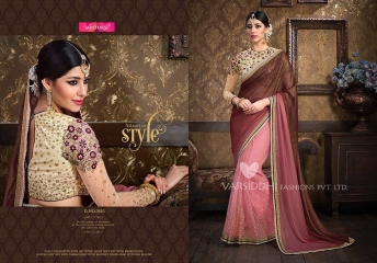 VARSIDDHI FASHION MINTORSI FANCY DESIGNER SAREES WHOLESALER 3610