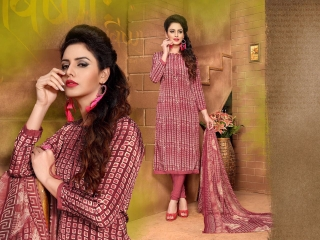 VARUN ITALIYAN SILK VOL 9 CRAPE SILK SALWAR KAMEEZ WHOLESALE RATE SURAT 1007