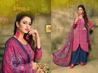 VARUN ITALIYAN SILK VOL 9 CRAPE SILK SALWAR KAMEEZ WHOLESALE RATE SURAT 1010