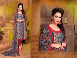 VARUN ITALIYAN SILK VOL 9 CRAPE SILK SALWAR KAMEEZ WHOLESALE RATE SURAT 1014