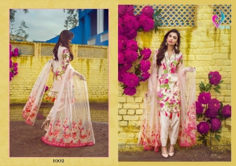 VIKSIT FAB SAIRA LAWN CATALOG WHOLESALE SURAT DEALER 1002