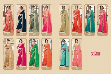 VIPUL FASHION BY FESTIVE BEAUTY CATALOGUE DESIGNER PARTY WEAR SAREES COLLECTION WHOLESALE PRICE T