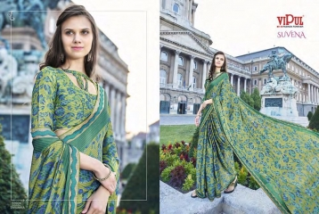 VIPUL FASHION SUVENA TRENDY GEORGETTE SAREES COLLECTION WHOLESALE PRICE 33924
