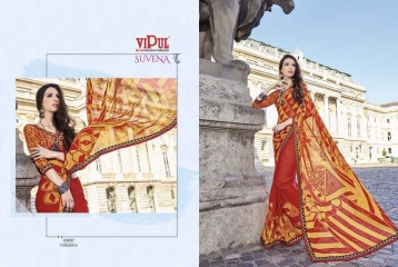 VIPUL FASHION SUVENA TRENDY GEORGETTE SAREES COLLECTION WHOLESALE PRICE 33937