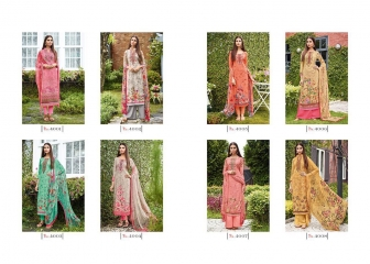 VIVEK SUITS BY FLOWER GIRL VOL 2 CATALOGUE SATIN DIGITAL PRINT EMBROIDERY SALWAR KAMEEZ SUITS WHOLESALE T