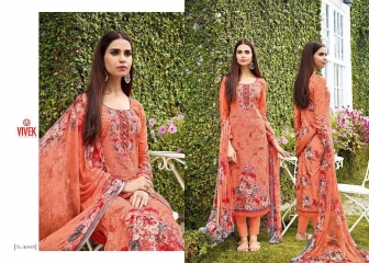 VIVEK SUITS FLOWER GIRL VOL 2 COTTON SUITS WHOLESALE SURAT 4005