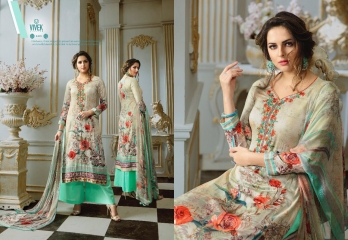 VIVEK SUITS MAHI SATIN COTTON SALWAR KAMEEZ EXPORTER SURAT 4405