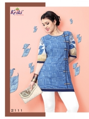 VOGUE GEORGETTE KURTI WHOLESALE ONLINE DEALER 2111