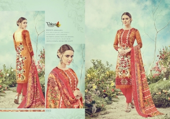 VOLONO TRENDZ BY PANCHI VOL 1 CATALOGUE PASHMINA PRINTS COLLECTION WHOLESALE RATE 1003