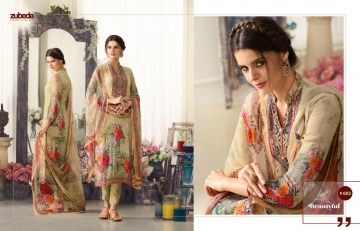 ZUBEDA ANISKA GEORGETTE EMBROIDERED COLLECTION WHOLESALE RATE 602